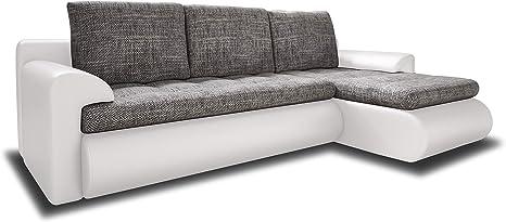 upholstered corner l shaped sofa bed