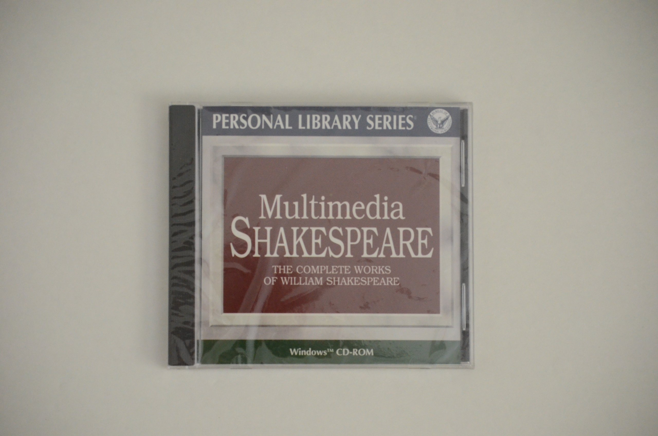 William Shakespeare: The Complete Works on CD-Rom