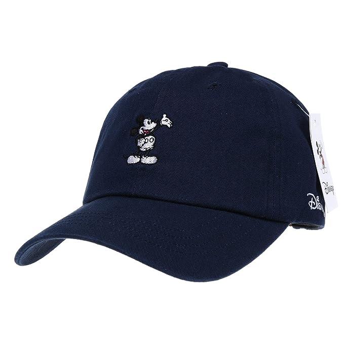 WITHMOONS Gorras de béisbol Gorra de Trucker Sombrero de Disney Mickey Mouse Baseball Cap Embroidery Hat