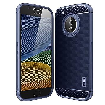 Moto G5 PLUS Funda carcasa / caso / case, KuGi ® Moto G5 PLUS Funda- de alta calidad caja de TPU suave estilo de esmerilado para Moto G5 PLUS teléfono ...