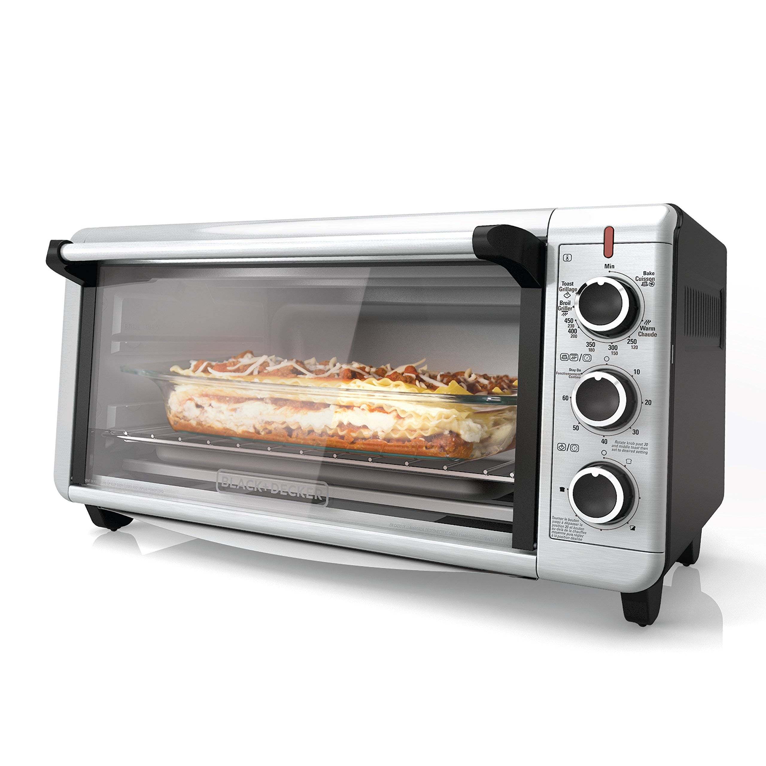 BLACK+DECKER 8-Slice Extra-Wide Countertop Convection Toaster Oven - Instant Pot