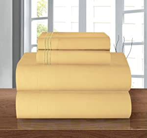 1500 Series ULTRA SILKY SOFT LUXURY 4 pcs Sheet set, Deep Pocket Up to 16