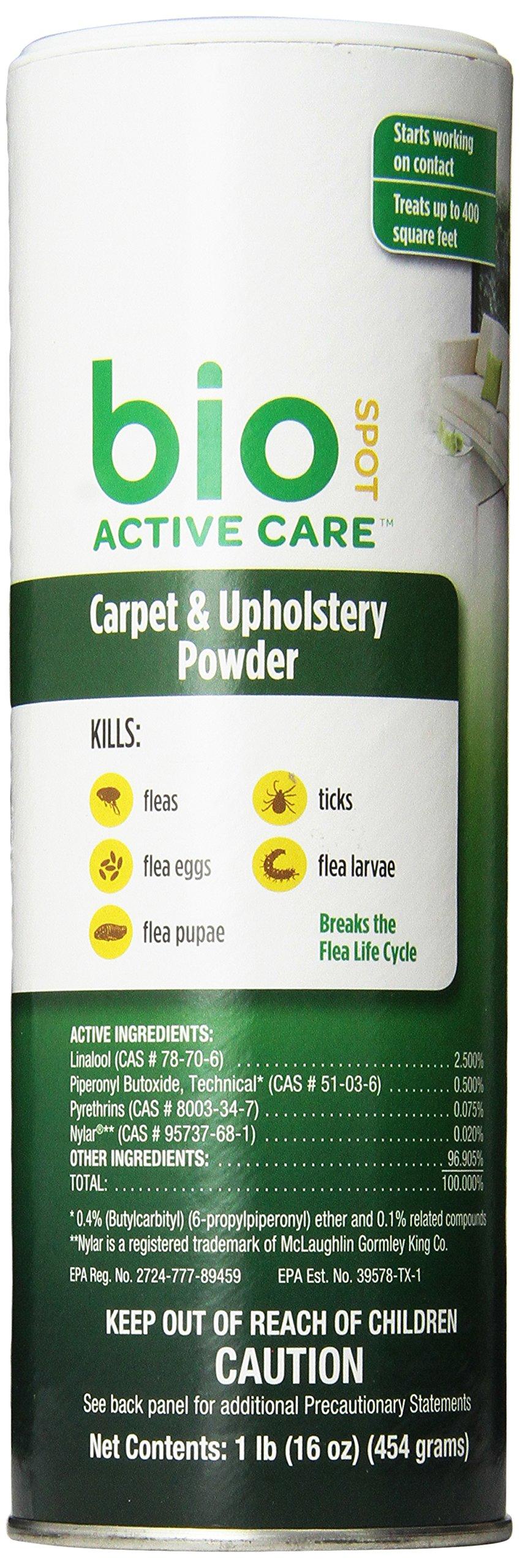 Bio Spot Active Care Carpet Powder 16 oz