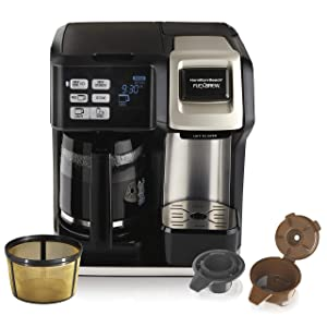 Hamilton-Beach-FlexBrew-Coffee-Maker,-Single-Serve-&-Full-Pot