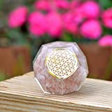 Orgone Dodecahedron Crystal - Emf Protection Flower