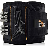 ELK Magnetic Wristband Small Armband Tool Organizer with Heavy Duty Strong Magnets for Holding Screws, Tools, Nails…