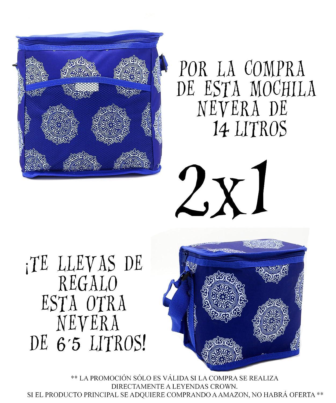 LEYENDAS Bolso Nevera Isotérmica Comida Almuerzo Oferta Color Azul ...