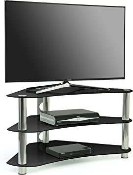 Centurion GT7 - Mesa de cristal para TV de 26 a 43