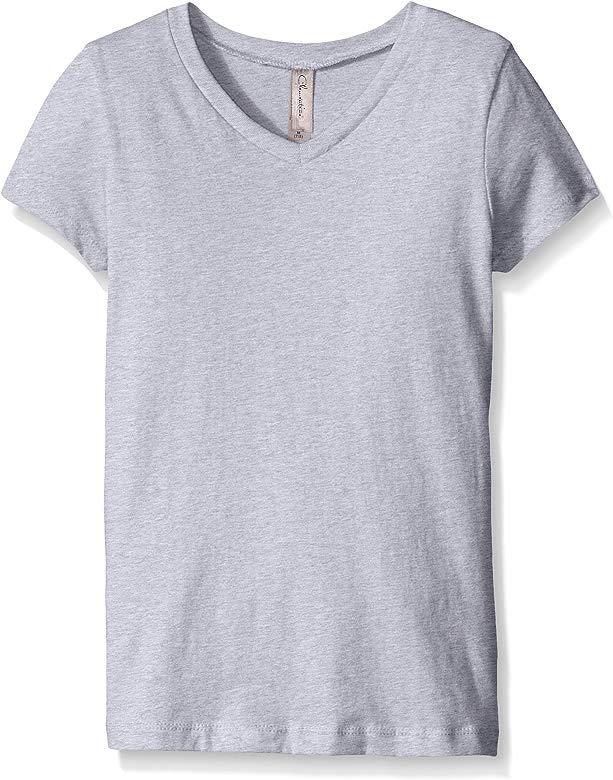 7-8 White Medium Clementine Big Girls Everyday T-Shirt