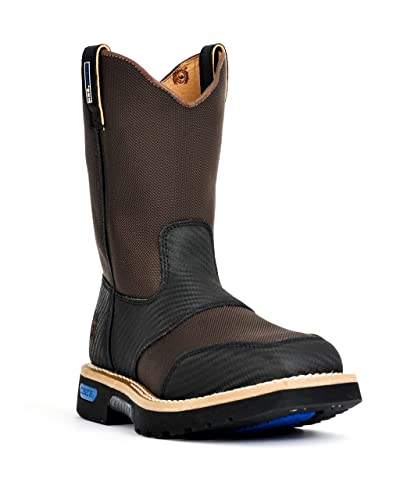 d7dbab78b82 Amazon.com   Cinch WRX Men's Western Pull-On Square Toe Work Boot ...