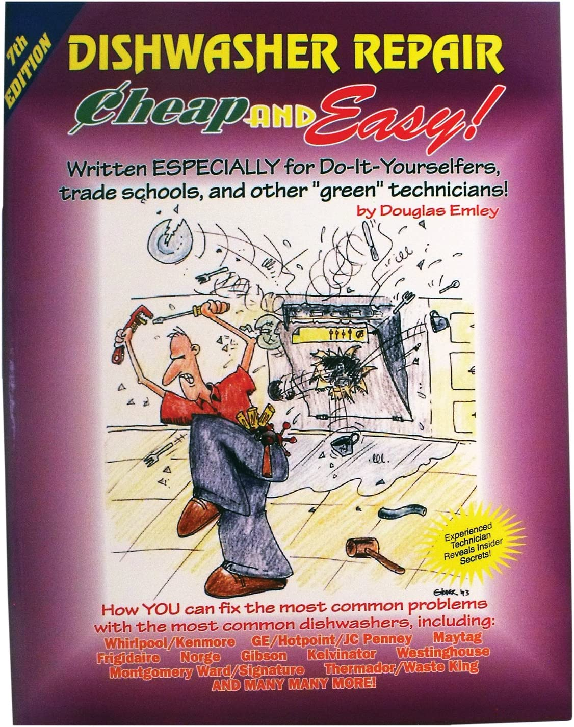 Supco EBDW Dishwasher Repair Manual