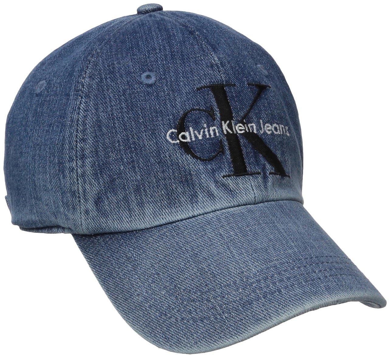 Calvin Klein Jeans Men s Reissue Logo Baseball Dad Hat  Amazon.in  Clothing    Accessories 67ac454ab67