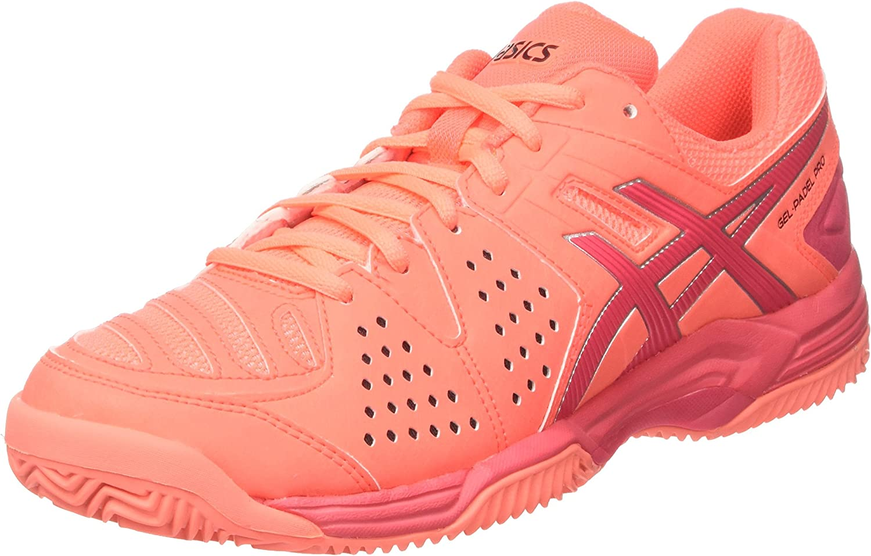 Asics Gel-Padel Pro 3 SG, Zapatillas de Gimnasia para Mujer, Naranja (Flash Coral/Rouge Red/Silver), 40.5 EU: Amazon.es: Zapatos y complementos