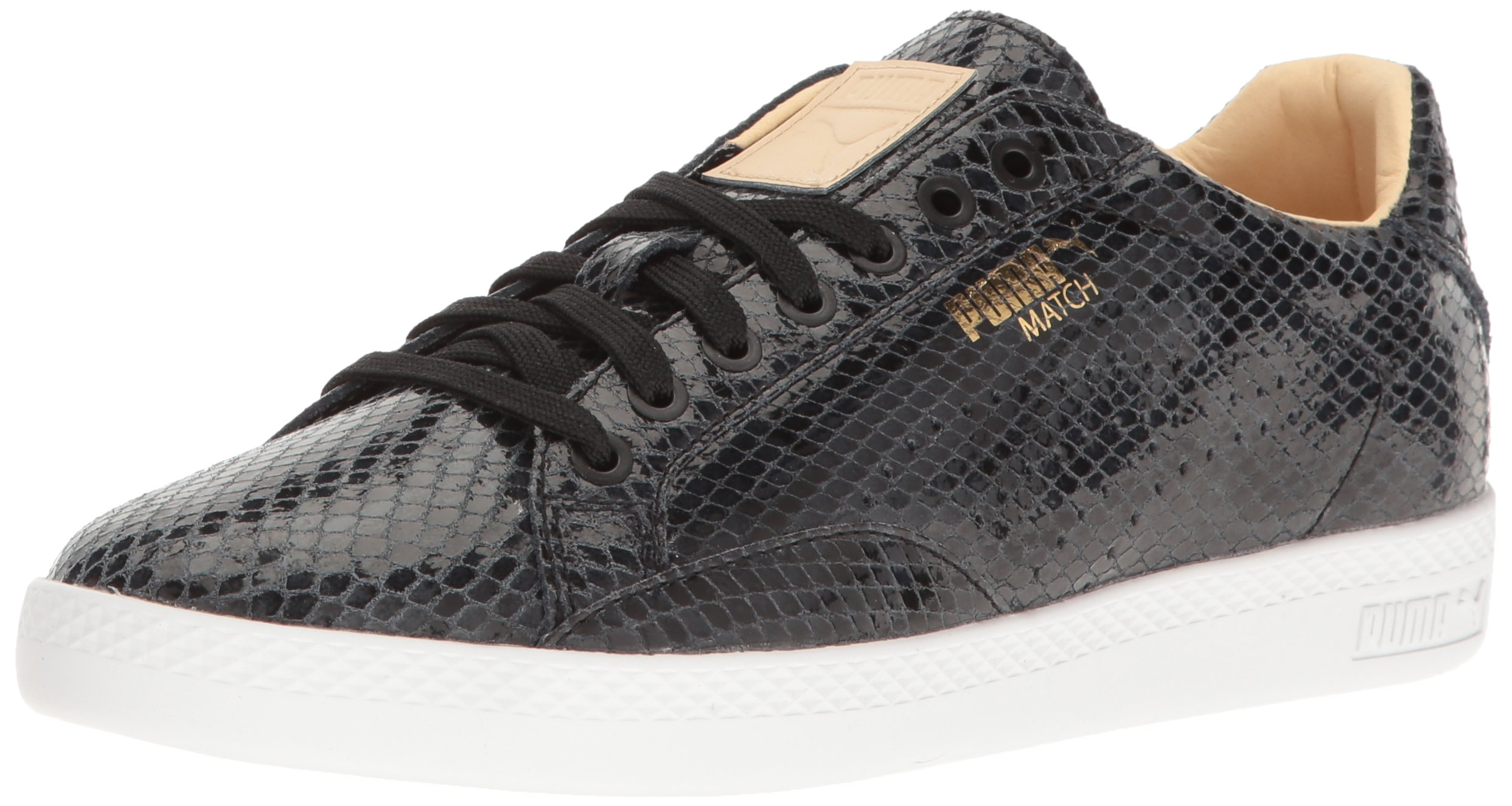 PUMA Women's Match Animal WN's Shoe, Black Natural V, 8.5 M US by PUMA