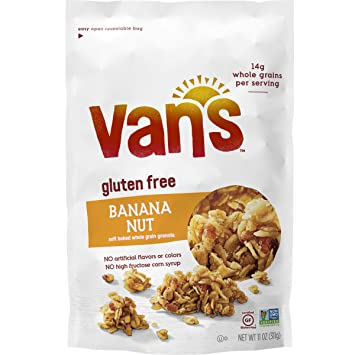 Amazon.com: Van's Simply Delicious Gluten-Free Soft and Chewy ... on planters peanuts candy, planters cranberry crunch, planters nut crunch, planters almonds,