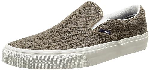 Vans U Classic Slip-On Cheetah Suede - Zapatillas Bajas Unisex, Color Cheetah Suede/Black/Tan, Talla 41: Amazon.es: Zapatos y complementos
