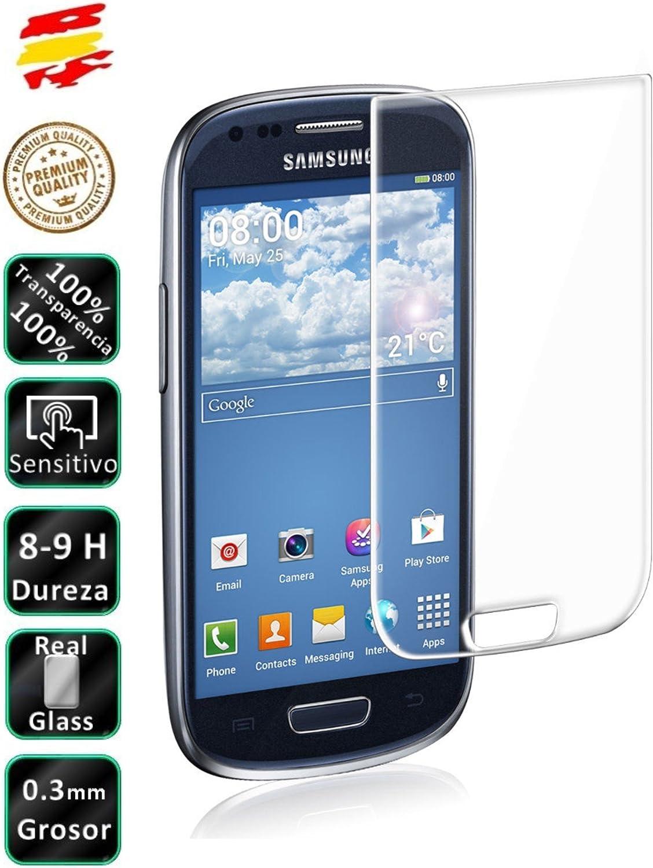 Movilrey Protector para Samsung Galaxy S3 Mini i8190 Cristal Templado de Pantalla Vidrio 9H para movil: Amazon.es: Electrónica