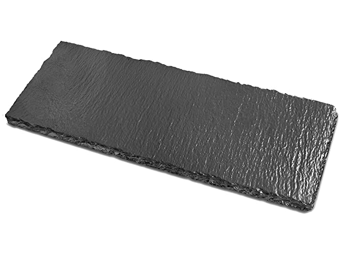 Amazoncom Small Slate Tray Renee Redesigns Gunmetal Natural
