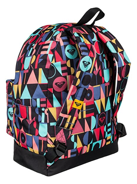 Roxy Be Young - Mochila con estampado integral para mujer, multicolor, talla única: Amazon.es: Zapatos y complementos