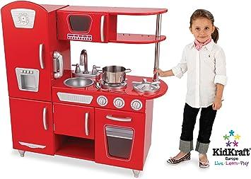 Kidkraft 53156 Jeu D Imitation Cuisine Retro Rouge