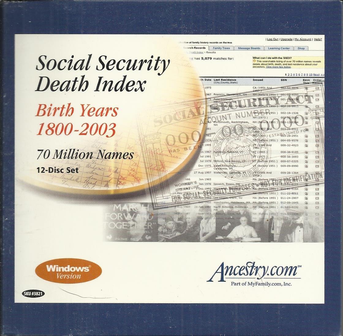 u s social security death index