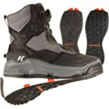 Korkers DarkHorse Wading Boots Mens 8 Felt & Kling-On