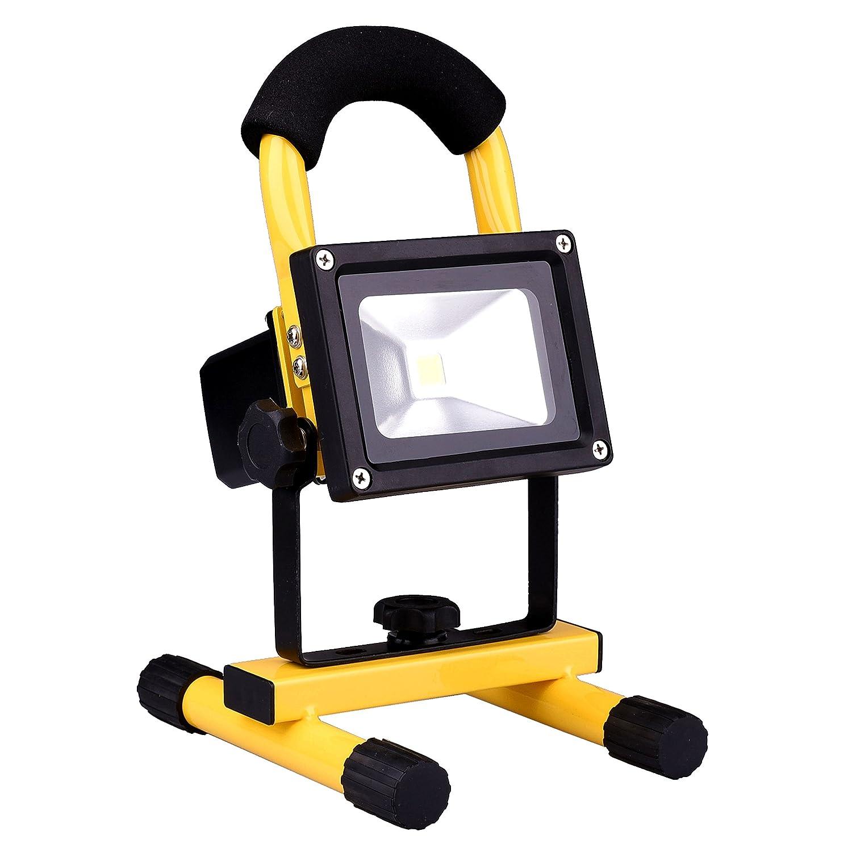 充電式LED投光器 Amilliastyle ポータブル投光器 LED作業灯 非常ライト 停電