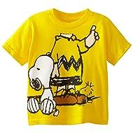 Peanuts Boys' Short Sleeve T-Shirt