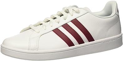 adidas CF Advantage, Chaussures de Fitness Homme, Blanc (Ftwbla/Buruni/Negbás 000), 49 1/3 EU