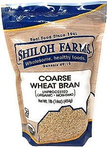Shiloh Farms - Coarse Wheat Bran - 16 Ounce