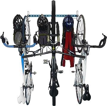 GearHooks Gancho de Pared para Bicicleta, 3 Ganchos de Almacenamiento y Engranaje para Bicicleta, perfectos para Garaje y Almacenamiento Interior (B3), BR3-BLU, Azul: Amazon.es: Deportes y aire libre