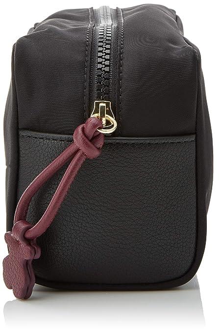 ce91b5775 Tous Neceser Grande Doromy-Vino, Bolsa de tela y de playa para Mujer,  Multicolor (Negro), 9x11x20 cm (W x H x L): Amazon.es: Zapatos y  complementos