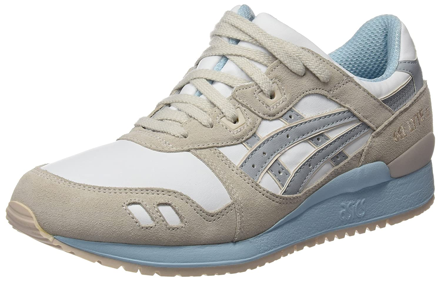 Asics Gel Lyte III - Sneakers Damen  38 EU|Bianco (White/Light Grey)