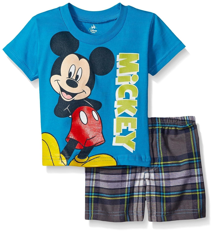 Disney Mickey Mouse Plaid Short Image 2