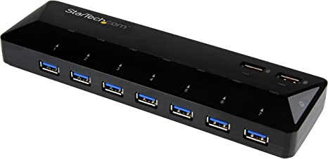 7-Port USB 3.0 Hub black StarTech.com
