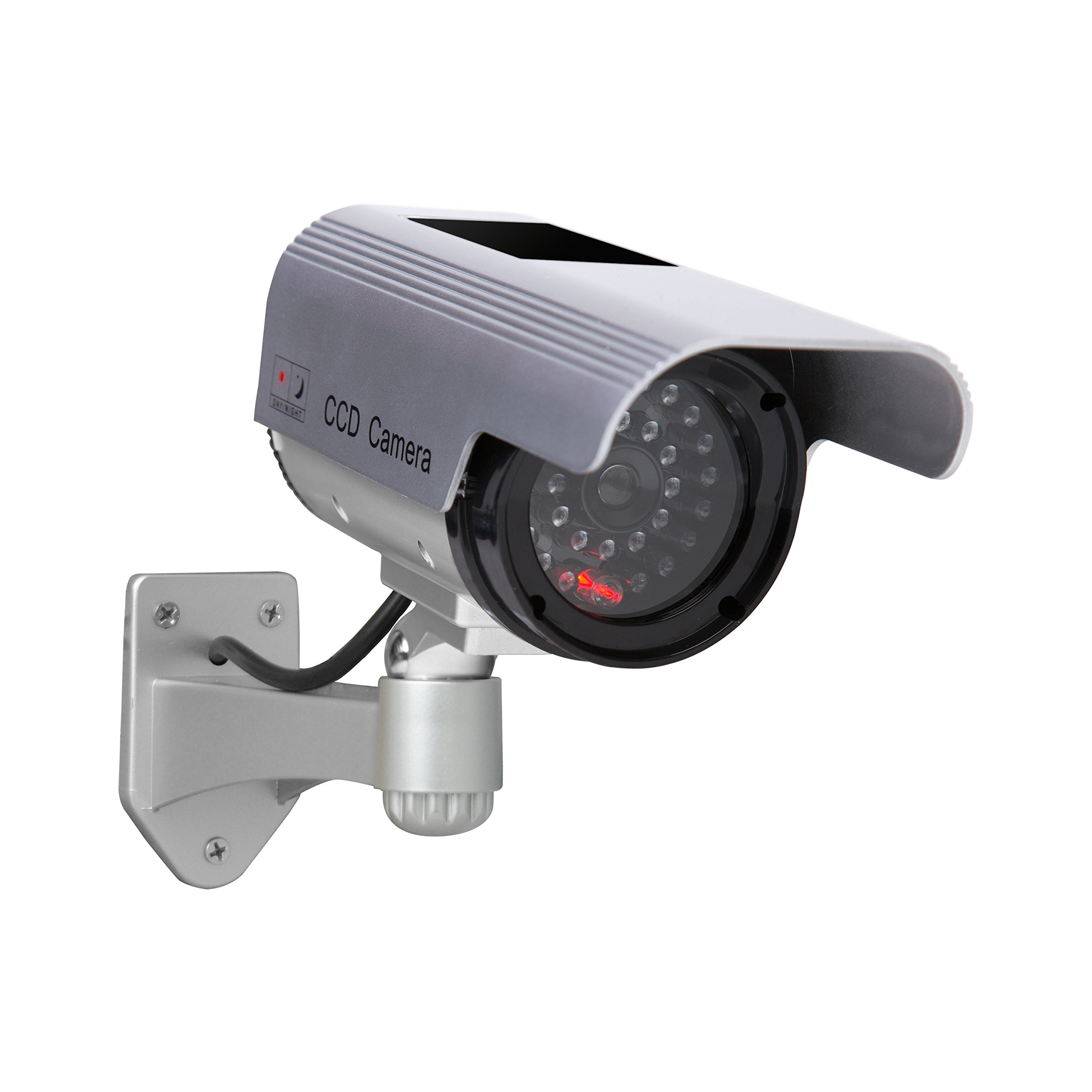 Sunforce 82340 Solar Fake Security Camera with Blinking Light by Sunforce
