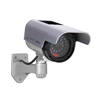 Amazon sunforce 82340 solar fake security camera with sunforce 82340 solar fake security camera with blinking light aloadofball Image collections