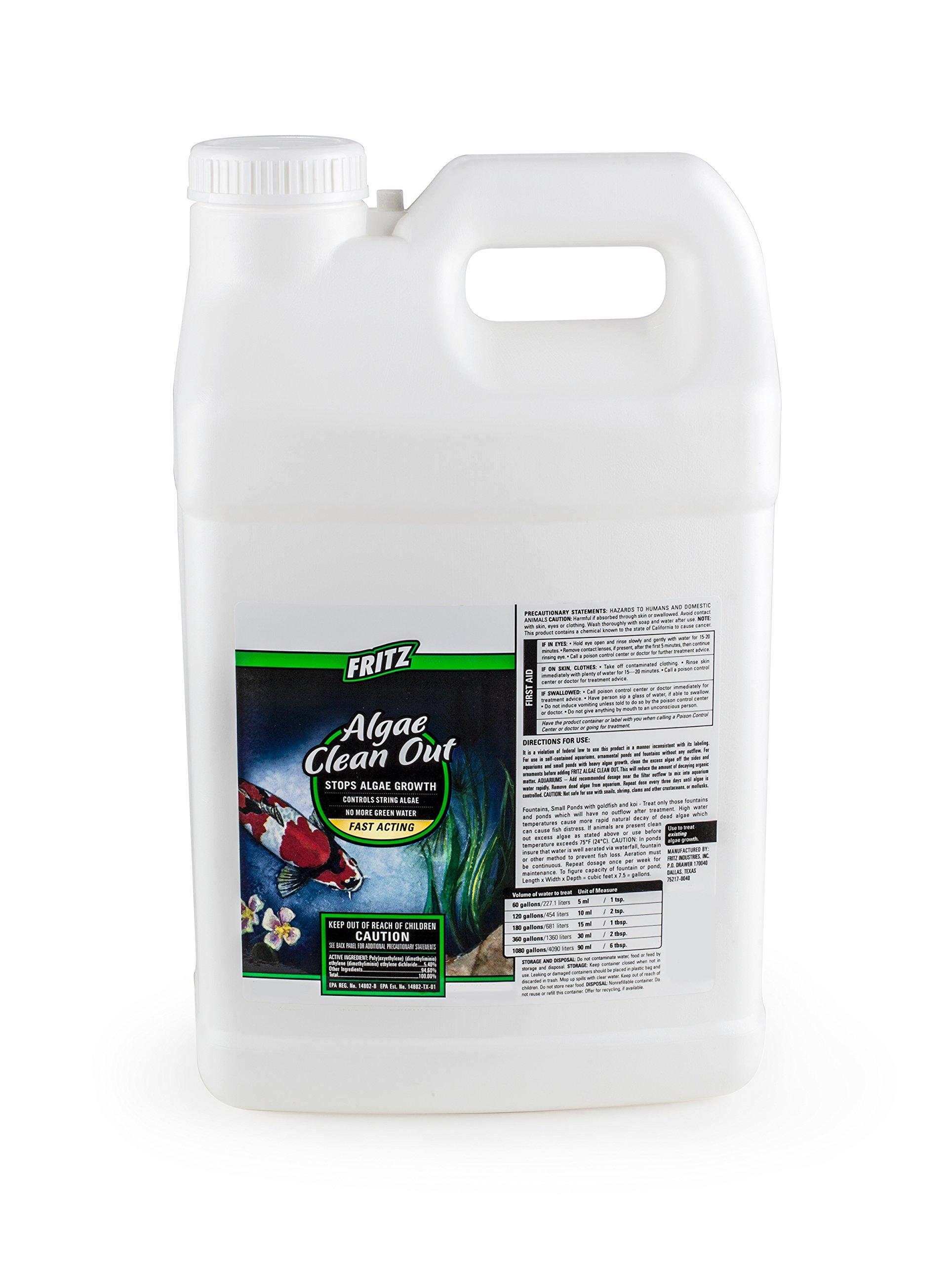 FritzPond - Algae Clean Out Algaecide - 2.5 Gallon