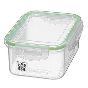 Cuisinart CFS-QR-16 Smartrack Rectangular 16 oz Storage Container, Clear