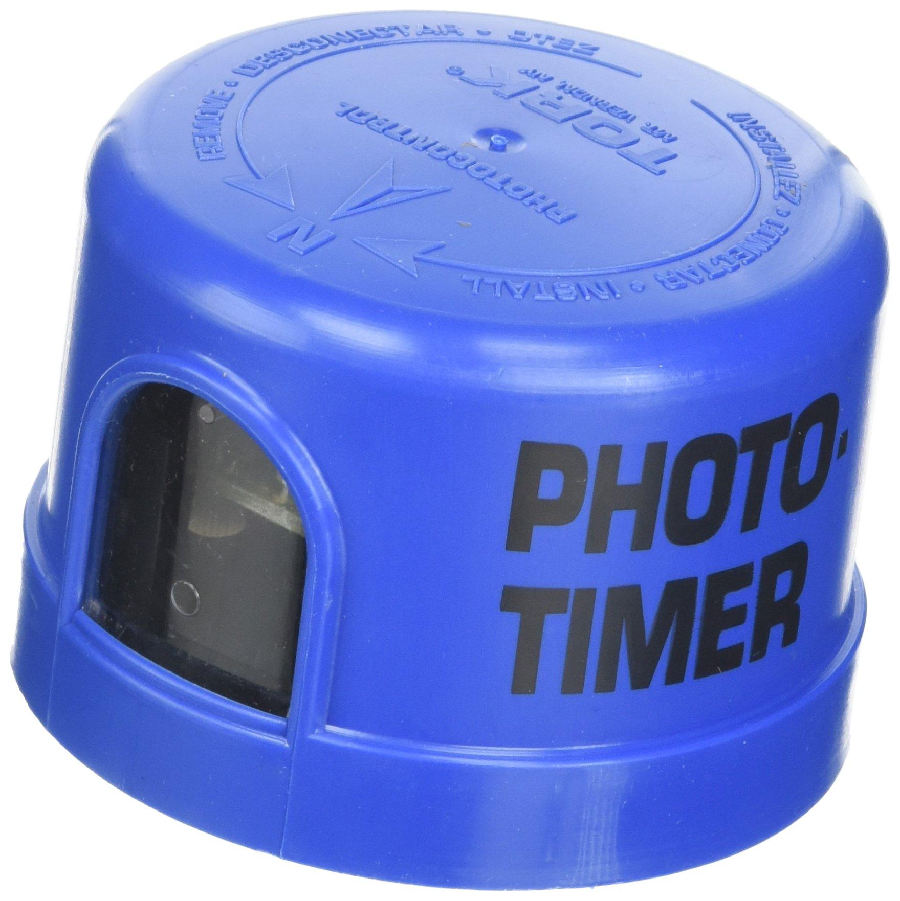 5737 Series Photo-Timer, 1800VA Ballast, SPST Switch, 1000W Power, 105-305VAC Voltage