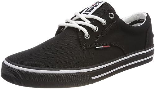07f91704895510 Hilfiger Denim Men s Tommy Jeans Textile Low-Top Sneakers  Amazon.co ...
