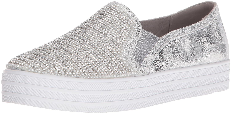 Skechers Damen OG 97-Shiny Sneaker, Silber  41 EU|Silber (Silver)