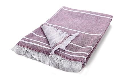 Arus baño, playa, piscina y gimnasio toalla con rizo algodón en un lado Peshtemal