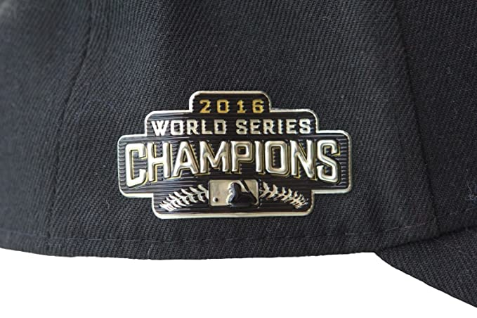 1c4a84a82481f Amazon.com  New Era Mens Chicago Cubs 9FORTY Adjustable 2016 World Series  Baseball Hat Black  Clothing