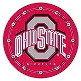 NCAA Ohio State University Padded Swivel Bar Stool