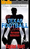 Hot Texas Football Romance Collection: 4 Sweet, Contemporary, Clean Romances