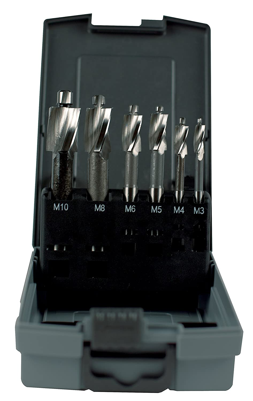 KEO 56224 DIN373 Metric Counterbore Set Before Thread