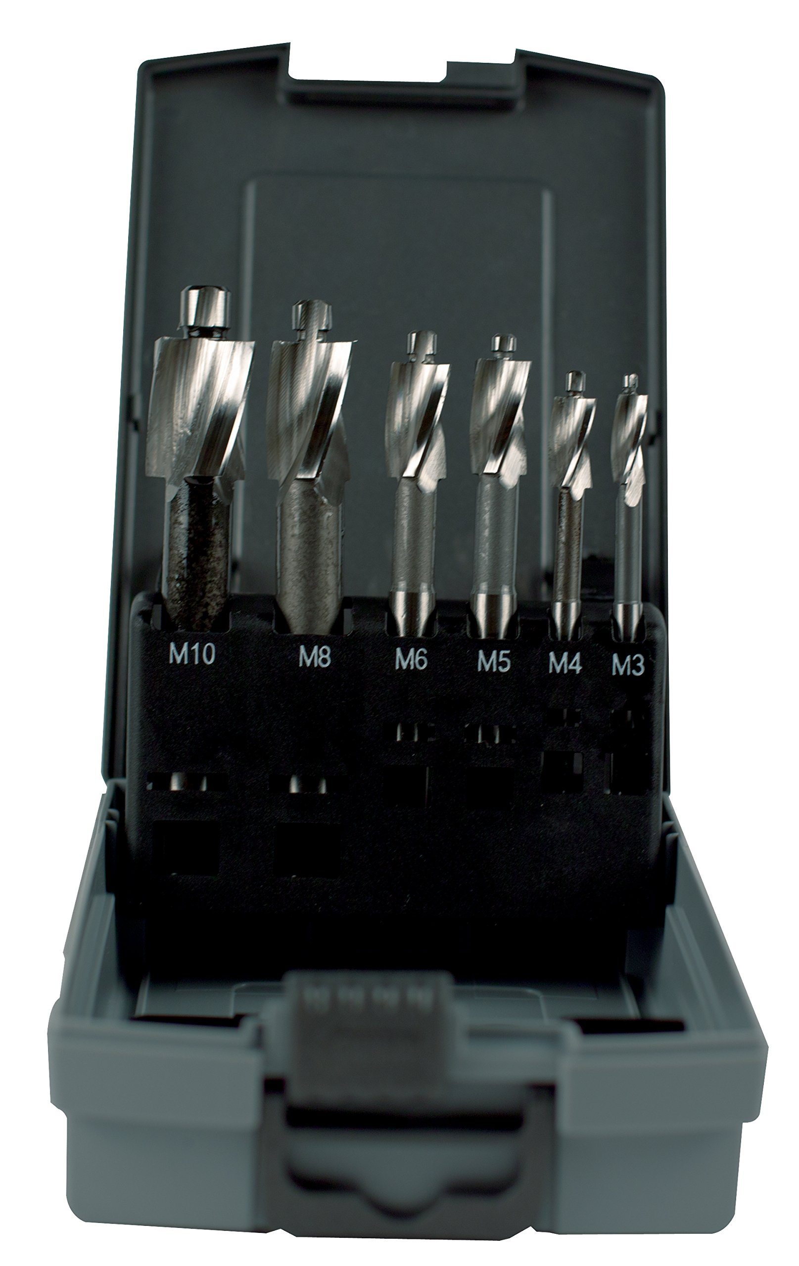KEO 56224 DIN373 Metric Counterbore Set, Before Thread