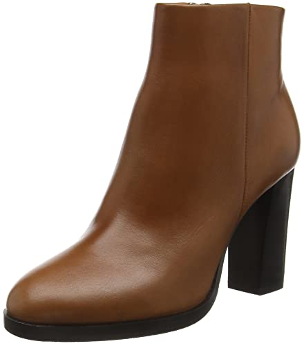 JOOP! Viola Ankle Boot III Soft Leather, Bottes Courtes FemmeMarronBraun (703), 41 EU
