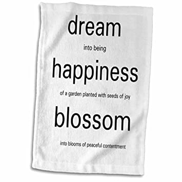 Amazoncom 3drose Ps Inspirations Dream Poem Happiness